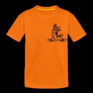 Shirts ~ Kids' Premium T-Shirt ~ Custom Retro Holland Lion emblem football shirt