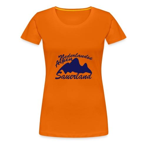 Nederlandse Alpen - Frauen Premium T-Shirt