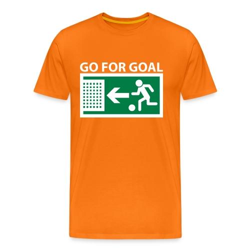 Go for Goal - Men's Premium T-Shirt