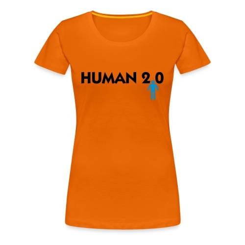 Mensch 2.0 - Frauen Premium T-Shirt