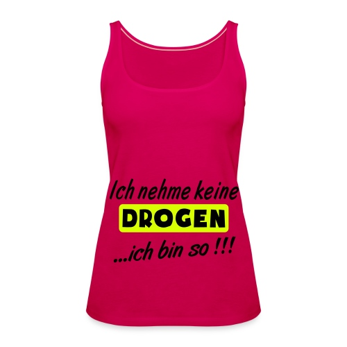 Spaghetti Top  - Frauen Premium Tank Top