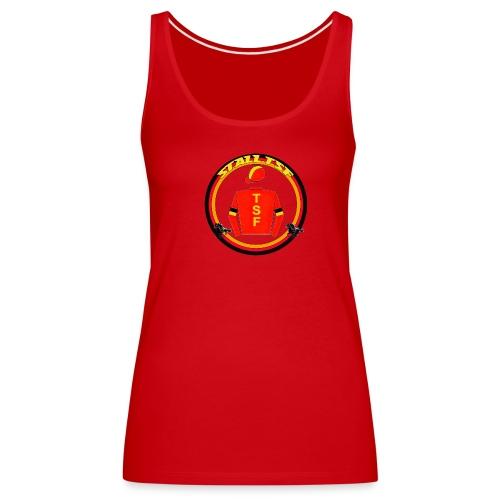 Da. Trägershirt mit TSF-Logo - Frauen Premium Tank Top