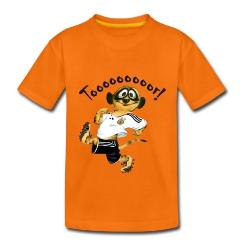 Schlingel-Torschütze - Teenager Premium T-Shirt