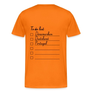 To do list - Mannen Premium T-shirt