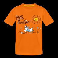 Shirts ~ Kids' Premium T-Shirt ~ Hello sunshine!