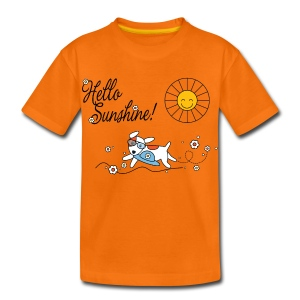 Hello sunshine! - Kids' Premium T-Shirt