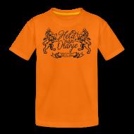 Shirts ~ Teenage Premium T-Shirt ~ Custom retro Holland lions footbal shirt