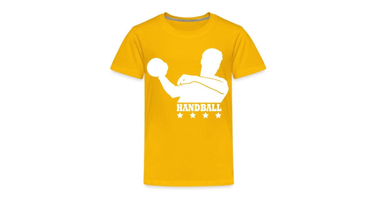 21351ec85785d Tee-shirts Handball   T-shirt Handball Enfant Personnalisable - T-shirt  Premium Enfant