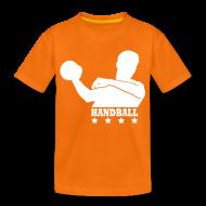 Tee shirts ~ T-shirt Premium Enfant ~ T-shirt Handball Enfant Personnalisable
