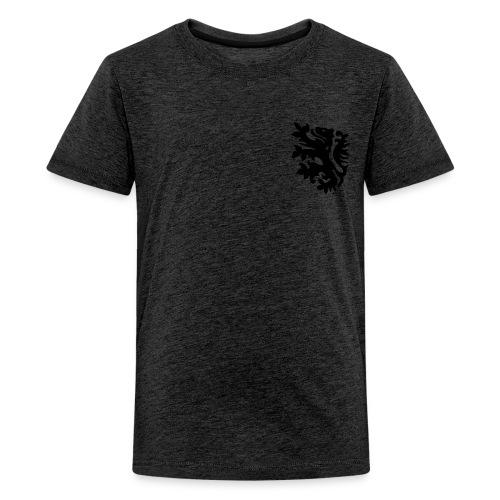 wk tiener t-shirt met retro leeuwtje - Teenager Premium T-shirt