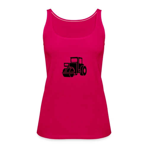 Dampfwalze Traktoren Steam-powered rollers Tractors - Frauen Premium Tank Top