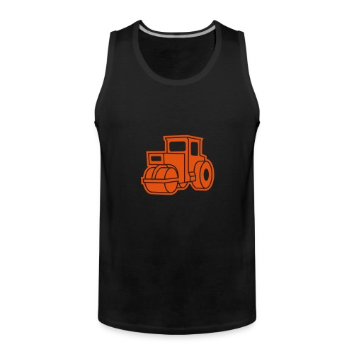 Dampfwalze Traktoren Steam-powered rollers Tractors - Männer Premium Tank Top