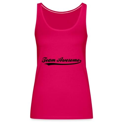 summer time t-shirt - Women's Premium Tank Top
