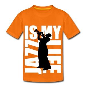 T shirt ado jazz is my life - T-shirt Premium Ado