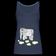 Tops ~ Women's Premium Tank Top ~ Elephant