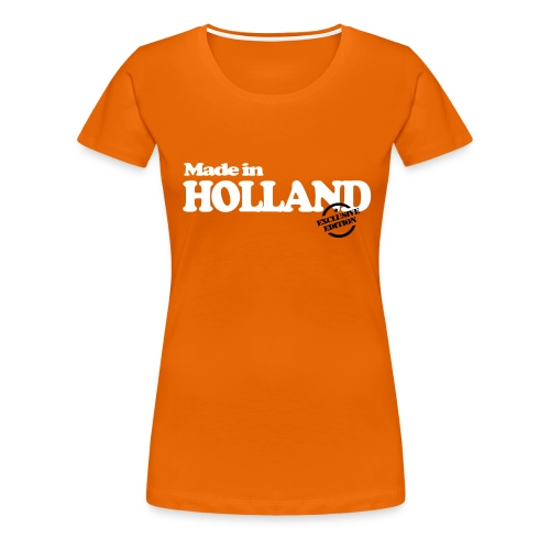 Made in Holland - Exclusive Edition - Vrouwen Premium T-shirt