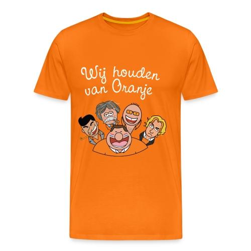 Wij houden van Oranje - Mannen Premium T-shirt