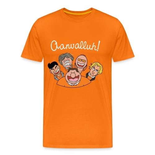 Aanvalluh! - Mannen Premium T-shirt