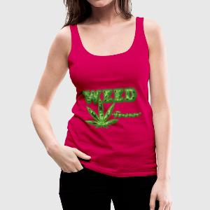 weed forever Tops - Women's Premium Tank Top
