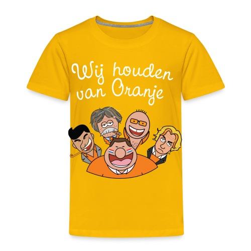 Wij houden van Oranje - Kinderen Premium T-shirt