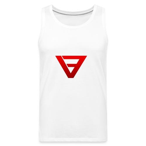 Mens Tank-Top (Red logo) - Men's Premium Tank Top