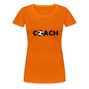 Ek t-shirt dames voetbal coach - Vrouwen Premium T-shirt