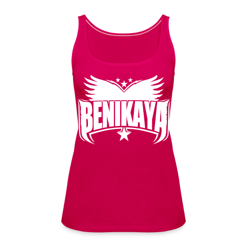 Benikaya Classic Logo Tank Top - Frauen Premium Tank Top