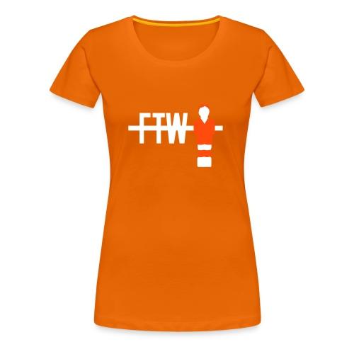 Nederland - For The Win - GIRLS - Vrouwen Premium T-shirt