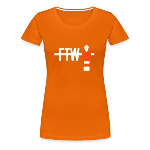 Nederland - For The Win - GIRLS - Vrouwen Premium T-shirt