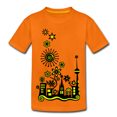 Guerilla Gardening!, c, Auf die Plätze - Saatbombe los! Let's fight the filth with forks and flowers! Kids' Shirts