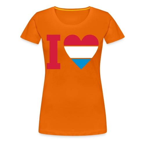 i love sneijder - Vrouwen Premium T-shirt