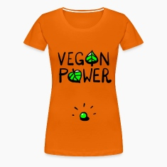 Veganpower Erbse T-Shirts