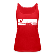 Tops ~ Frauen Premium Tank Top ~ VfL Turnerin Emblem