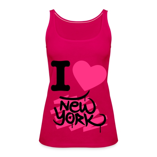 I LOVE NEW YORK - Top - Vrouwen Premium tank top