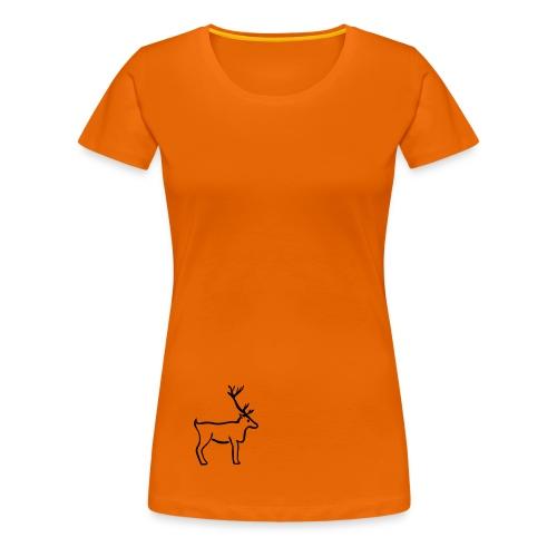 Rentier Shirt - Frauen Premium T-Shirt