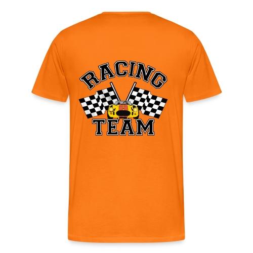 racing team flags - Men's Premium T-Shirt