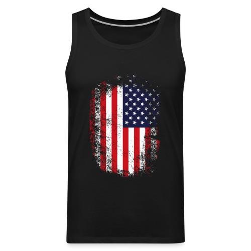 USA - Männer Premium Tank Top