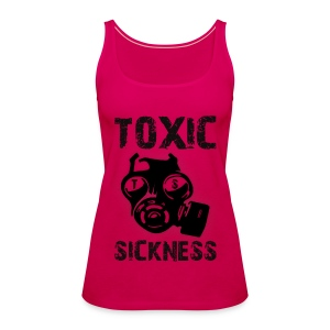 New ladies pink Toxic vest - Women's Premium Tank Top