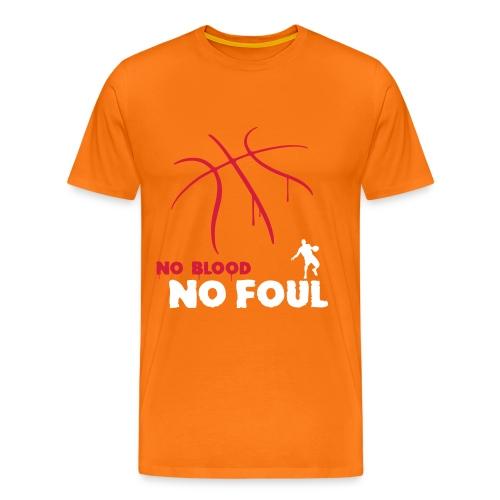No Blood, No Foul - Men's Premium T-Shirt