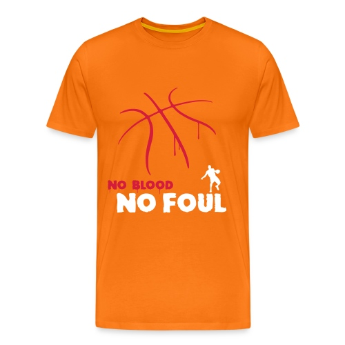 No Blood, No Foul - Men's Premium T-Shirt