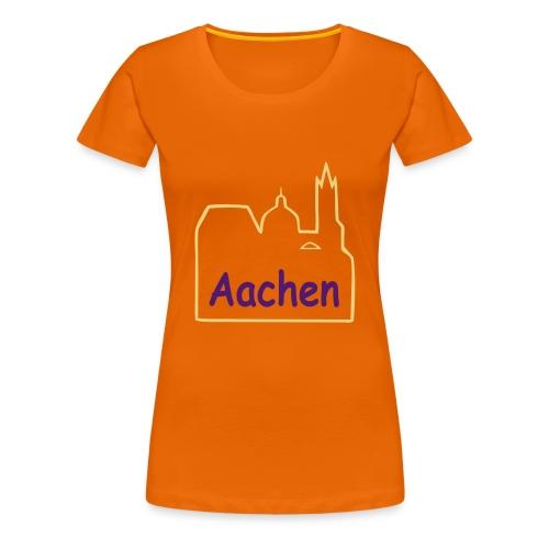 Dom zu Aachen Shirt - Frauen Premium T-Shirt