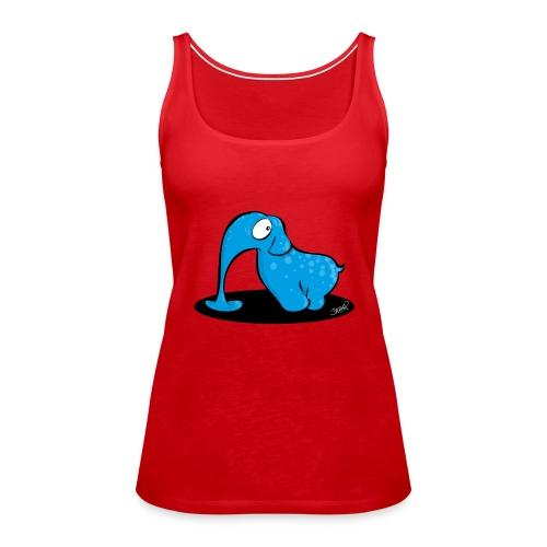 Blauer Elefant - Frauen Premium Tank Top