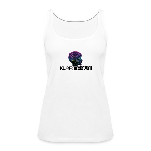 Klartraum Logo Transparent - Women's Premium Tank Top
