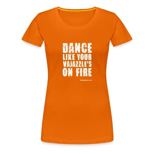 VAJAZZLE 1 // DIGITAL-DIRECT // WOMEN'S GIRLIE - Women's Premium T-Shirt