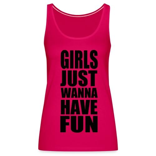 Girls, Girls, Girls! - Premium singlet for kvinner