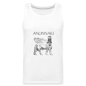 Smanicata con logo ANUNNAKI - Canotta premium da uomo