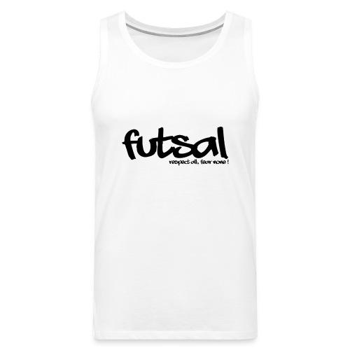 Futsal Black III - Débardeur Premium Homme