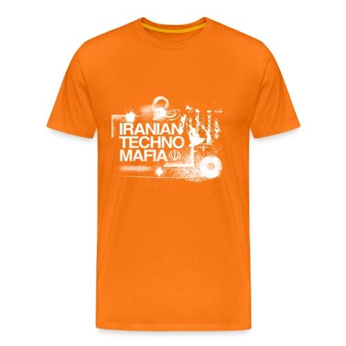 Sen Stag T/White Logo - Men's Premium T-Shirt