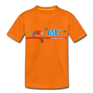 Kids' Classic Make ME T-Shirt +LDIFME Logo - Kids' Premium T-Shirt