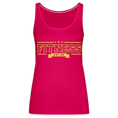 Vrouwen schouder vrije tank top fitness - Vrouwen Premium tank top